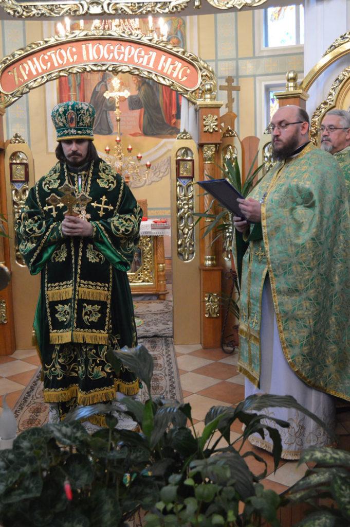 Вітальна адреса Високопреосвященнійшому архієпископу Нестору в день тезоіменитства