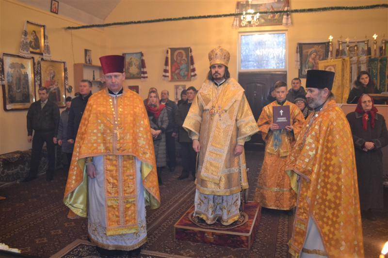 Богослужіння архієпископа Нестора в 26-ту неділю після П'ятидесятниці