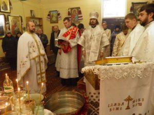 Богослужіння архієпископа Нестора на свято Навечір'я Богоявлення (Відео)
