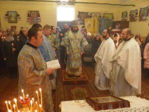 Архієпископ Нестор очолив богослужіння свята Стрітення Господнього